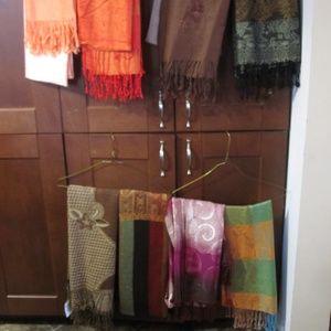pashmina scarves set of 8